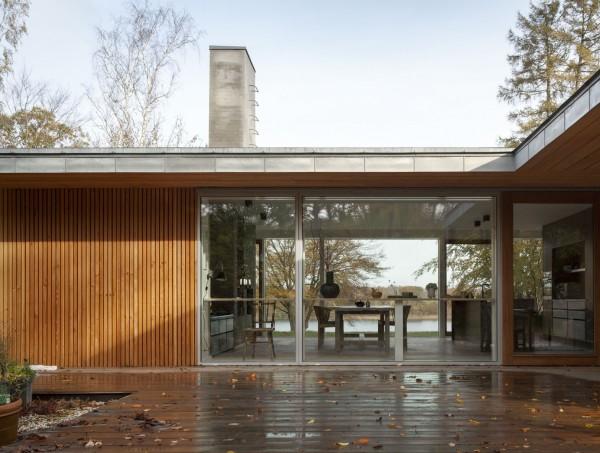 Энергоэффективный дом в пригороде Копенгагена