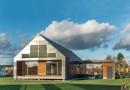 Стекляный экодом викингов от Architects Arkitema