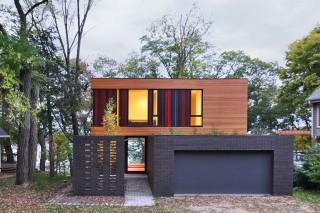 Redaction House: яркий фасад и «зеленые» технологии