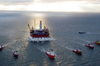 На нефтяной платформе «Приразломная» внедряют инновационные системы экологической безопасности