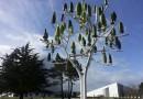 Во Франции появилось дерево, генерирующее энергию ветра