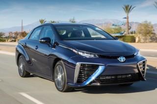 Компания Toyota планирует установить водородный двигатель на новый Lexus