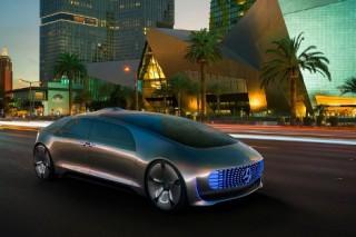 Mercedes представил водородный концепт с автопилотом