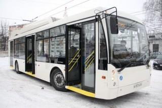 В Ярославле вышел на маршрут первый электробус
