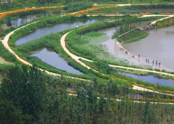 Национальный парк на месте сточной канавы