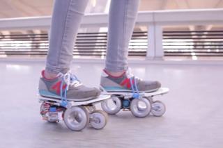 На выставке CES 2015 представили насадки на обувь, вдвое увеличивающие скорость ходьбы