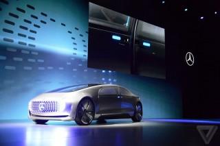 Mercedes показал свое видение беспилотных электромобилей