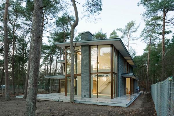 Цветовое решение фасада подскажет природное окружение