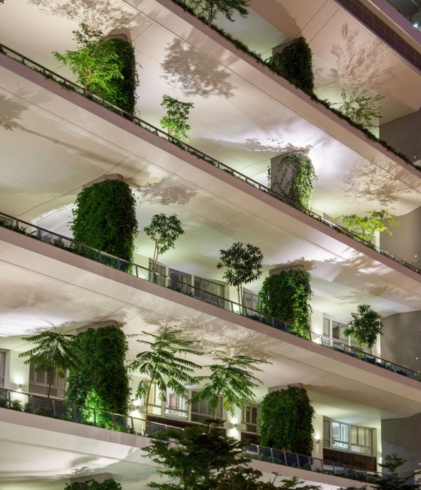 """""""Зеленый"""" кондоминиум в Сингапуре"""