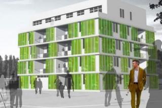 В Гамбурге продемонстрировали инновационный экодом с водорослями