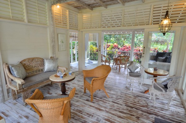 Деревянный домик на острове Бали