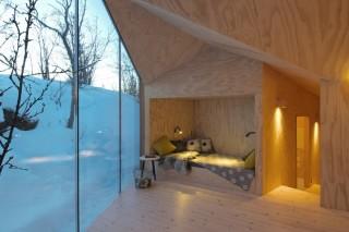 Деревянный коттедж в норвежской провинции