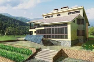 На архитектурном конкурсе «ПРОФИ-2015» лучшим назвали проект экодома профессора ДВФУ