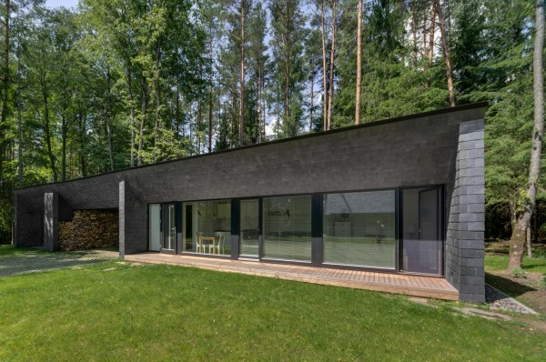 Современный литовский сельский дом