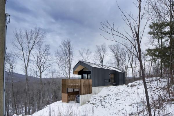Загородный коттедж на юге Квебека