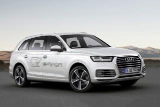 Audi представила в Женеве гибридный Q7