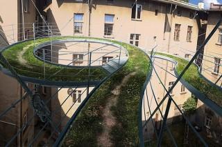 Балкон для неспешных прогулок