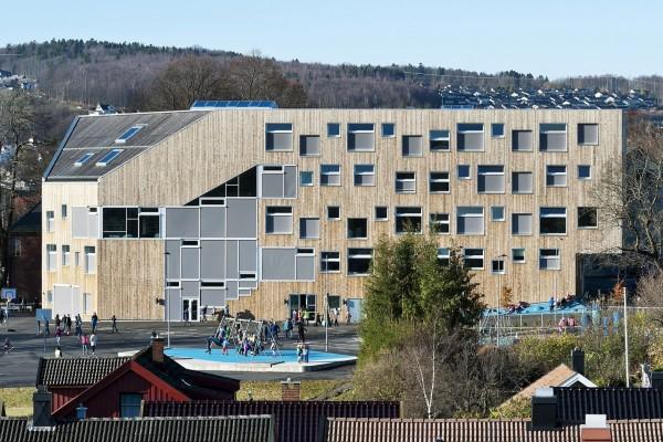 Энергоэффективная школа в Норвегии