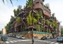 «Пятиэтажка» с вертикальным садом