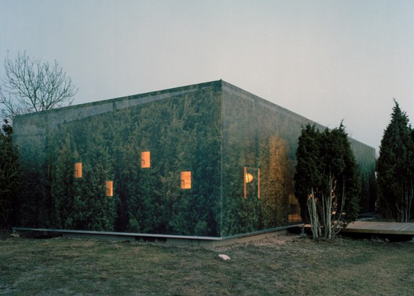 "Зеленый ""камуфляж"" для фасада"
