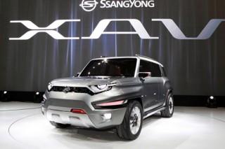SsangYong показал гибридный концепт-кроссовер