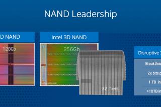 Компания Intel нашла возможность увеличить объем SSD-накопителей до 10 терабайт