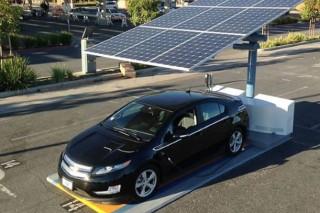 В Сан-Франциско появились первые бесплатные зарядные станции для электрокаров на солнечных батареях