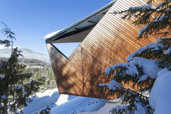 Частный дом в горах Британской Колумбии