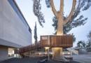 Детский домик вокруг дерева