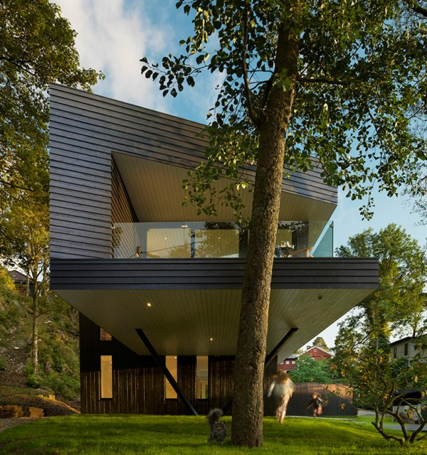 Энергоэффективный дом в Бергене