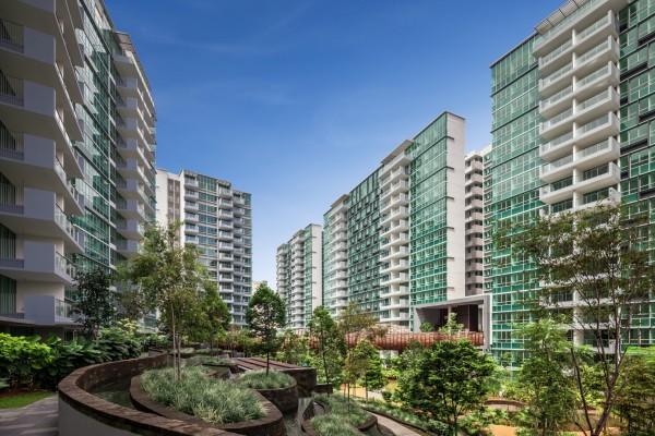 """Жилой комплекс """"The Minton"""" в Сингапуре"""