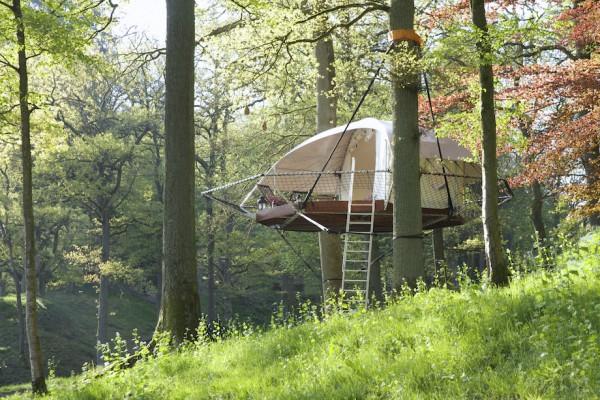 Dom'Up: подвесной дом-палатка