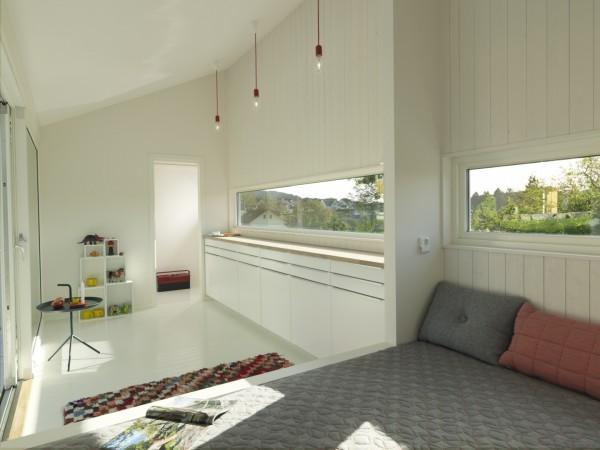 Домик для отдыха площадью 15 кв. м.