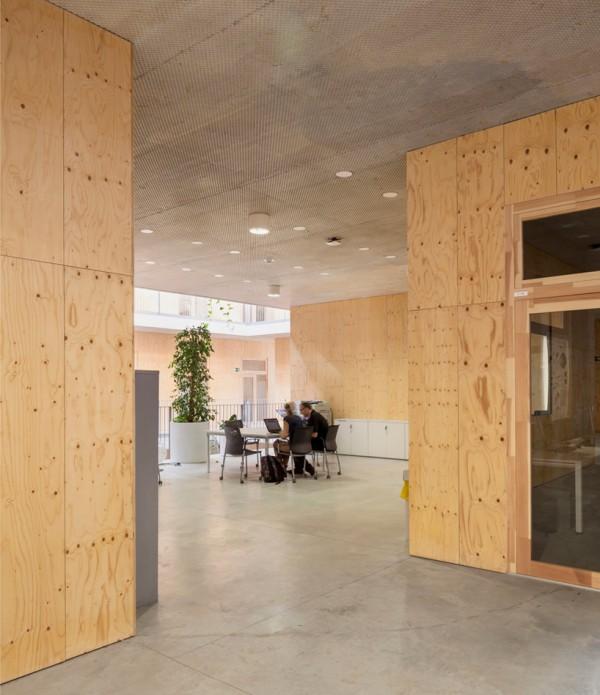 Исследовательский центр с биоклиматическим фасадом