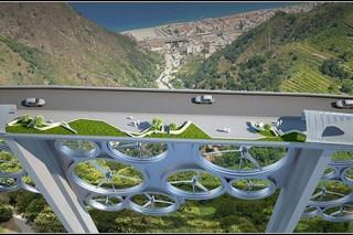 В Италии может появиться мост, генерирующий солнечную и ветряную энергию