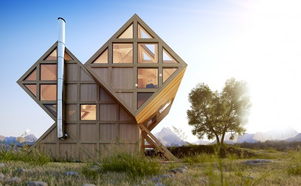 Дом в Доломитовых Альпах