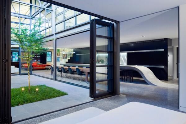 Энергоэффективный жилой дом на бывшем складе