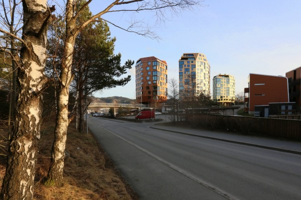Энергоэффективный жилой комплекс в Норвегии