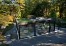 Стеклянный домик-оранжерея
