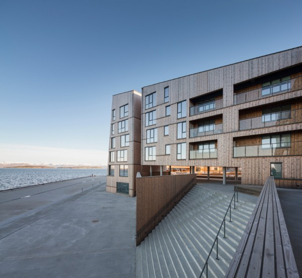 The Waterfront: один из крупнейших в ЕС жилкомплексов из дерева