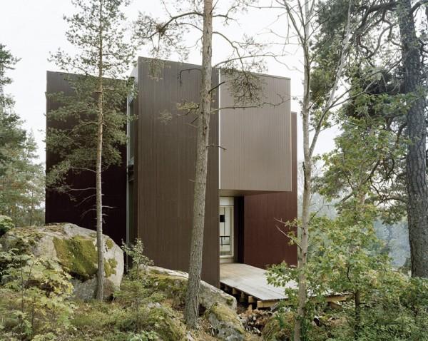 Вилла в шведском лесу