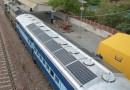 В Индии запустили поезд, использующий солнечную энергию