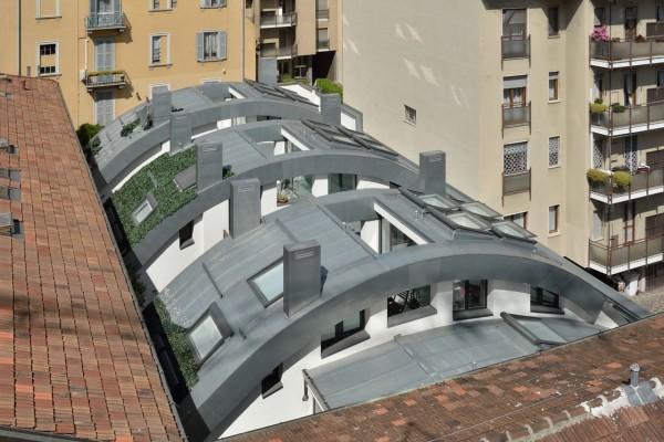 Семиэтажный экодом в центре Милана