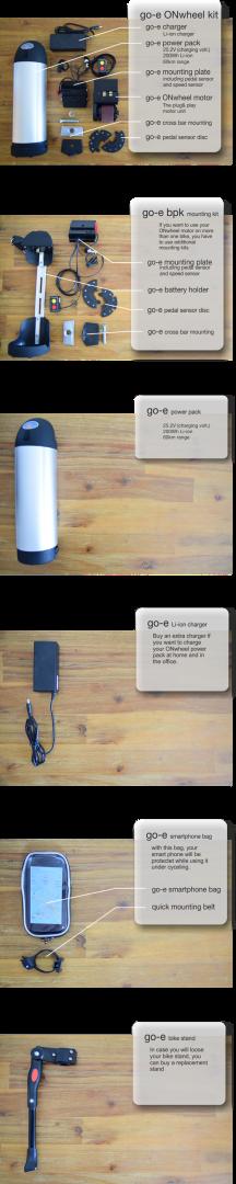 go-e ONwheel – нехитрое устройство, которое превращает велосипед в электротранспорт