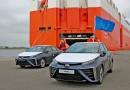 Toyota Mirai прибыл в Европу