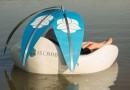 Чилийцы создали плавающее кресло на солнечных панелях